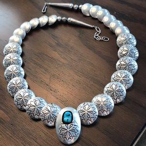 Concho necklace